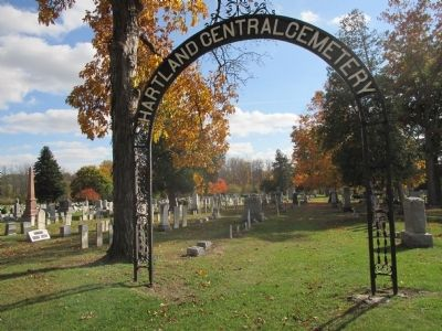 Hartland Central Cemetery image. Click for full size.