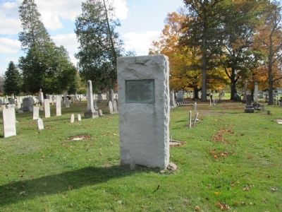 Town of Hartland World War I and World War II Memorial image. Click for full size.