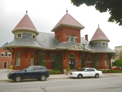 Former Grand Trunk Railway Station image. Click for full size.