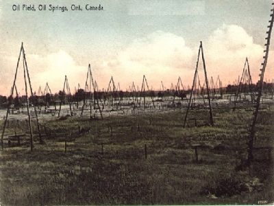 Oi Field, Oil Springs, Ont. Canada image. Click for full size.