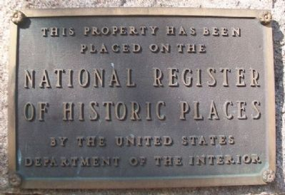 Episcopal Church of Our Savior NRHP Marker image. Click for full size.