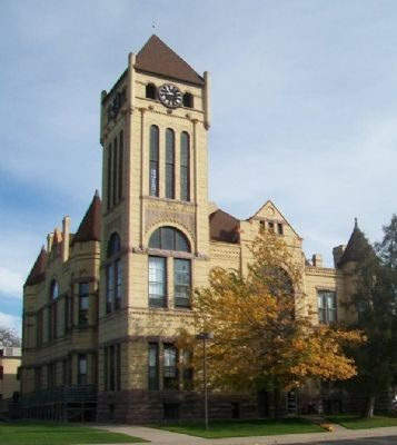 Morrison County Courthouse image. Click for full size.