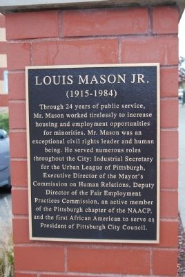 Louis Mason, Jr Marker image. Click for full size.