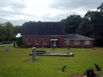 Van's Creek Baptist Church<br>North Elevation image. Click for full size.