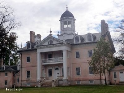 Ridgely Mansion-front view image. Click for full size.