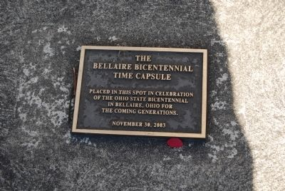 The Bellaire Bicentennial Time Capsule image. Click for full size.