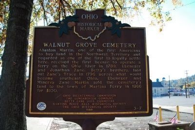 Walnut Grove Cemetery Marker (Side B) image. Click for full size.