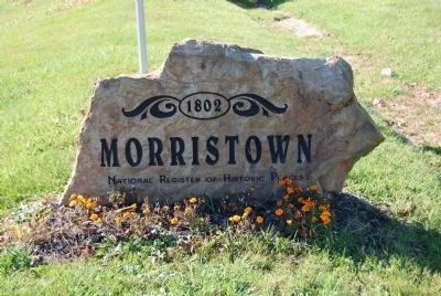 Morristown Stone image. Click for full size.