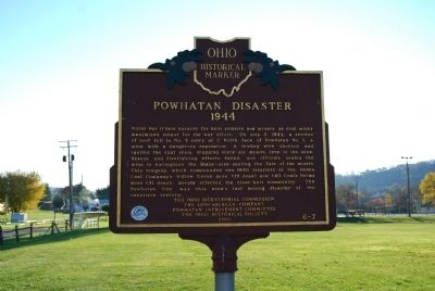 Powhatan Disaster, 1944 Marker image. Click for full size.