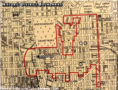 Historic District Boundaries image. Click for full size.