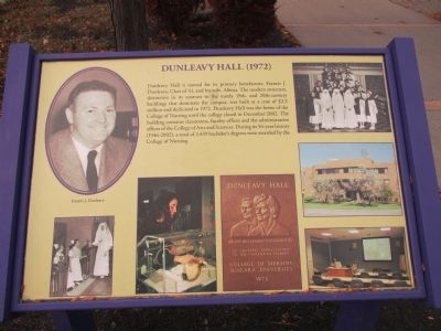 Dunleavy Hall Marker image. Click for full size.