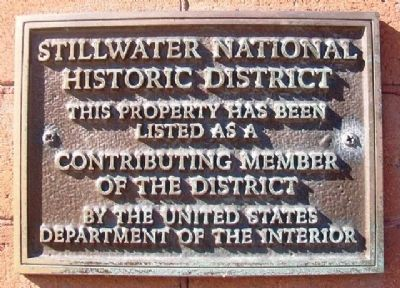 Northern States Power Company Division Offices NRHP Marker image. Click for full size.