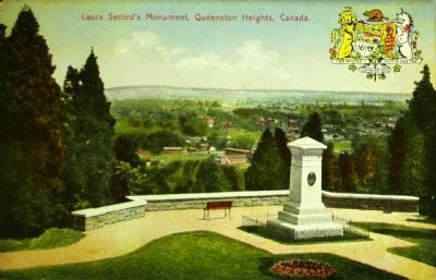<i>Laura Secord&#39;s Monument, Queenston Heights, Canada</i> image. Click for full size.