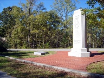 Bobby Brown State Park Monument West Side image. Click for full size.