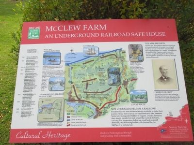 McClew Farm Marker image. Click for full size.