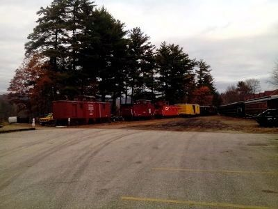 Caboose Grand Trunk Ry. No 75953 - The Middle Caboose image. Click for full size.