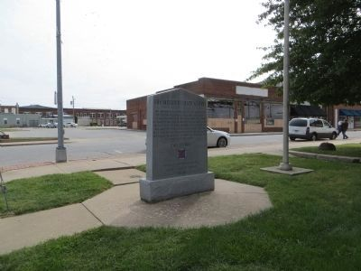 The Missouri State Guard Marker image. Click for full size.