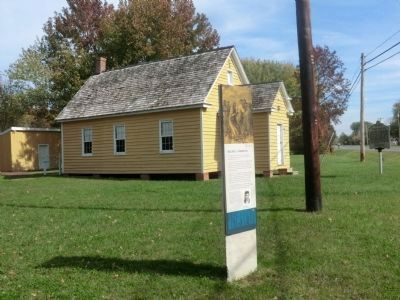 Stanley Institute-One room school house image. Click for full size.