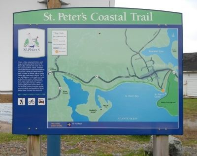 St. Peter's Coast Trail image. Click for full size.
