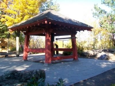 Ohara Peace Bell Pavilion image. Click for full size.