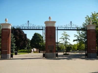 The Gate to Greenfield Village image. Click for full size.