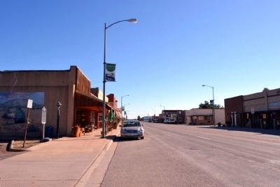 View to South in Downtown Hamlin image. Click for full size.
