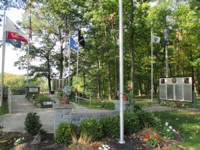 Greenwood Veterans' Memorial Park image. Click for full size.