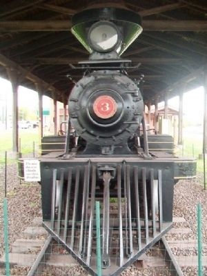 Duluth and Iron Range Railroad Locomotive #3 image. Click for full size.