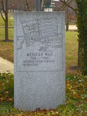 Mexican War image. Click for full size.
