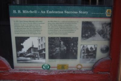 H.B. Mitchell - An Emlenton Success Story Marker image. Click for full size.