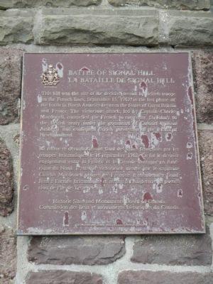 Battle of Signal Hill Marker image. Click for full size.