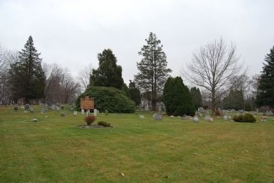 Lot 17, Friends Burying Grounds Marker image. Click for full size.