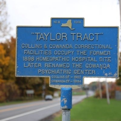 """Taylor Tract"" Marker image. Click for full size."