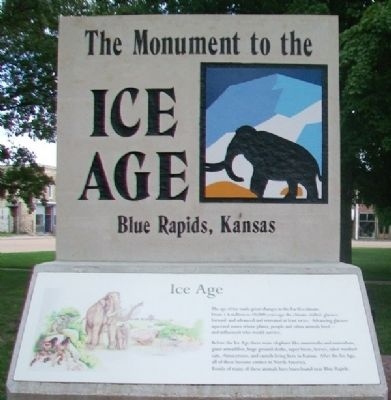 The Monument to the Ice Age Monument image. Click for full size.