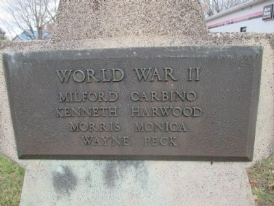 Bangor World War II Memorial image. Click for full size.