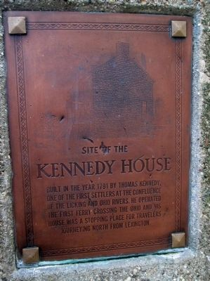 Kennedy House Marker image. Click for full size.
