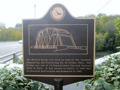 Milford Bridge Marker image. Click for full size.