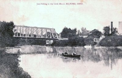old Milford Bridge image. Click for full size.