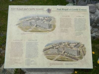 Port Royal and Castle Graves Marker image. Click for full size.