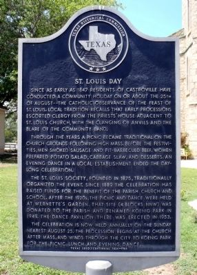 St. Louis Day Marker image. Click for full size.