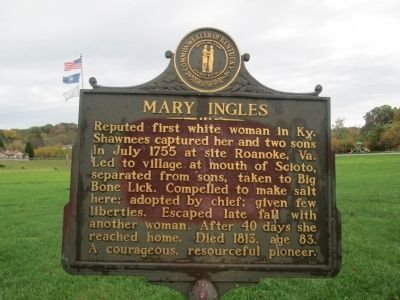 Mary Engles Marker #1 image. Click for full size.