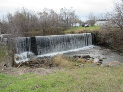 Dam on Little Salmon River - Southward view from US 11 image. Click for full size.