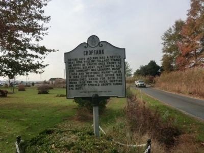 Choptank Marker image. Click for full size.