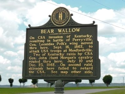 Bear Wallow Marker image. Click for full size.