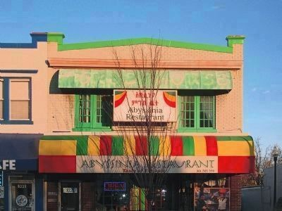 Abyssinia Restaurant<br>Taste of Ethiopia image. Click for full size.