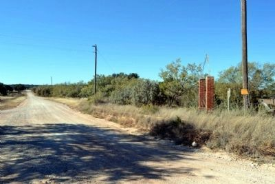 View to West from CR 189 near Marker Location image. Click for full size.