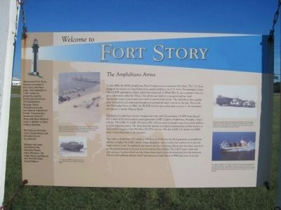 Fort Story Marker image. Click for full size.