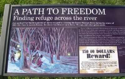 A Path To Freedom Marker image. Click for full size.