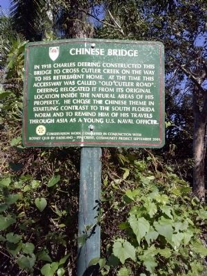 Chinese Bridge Marker image. Click for full size.