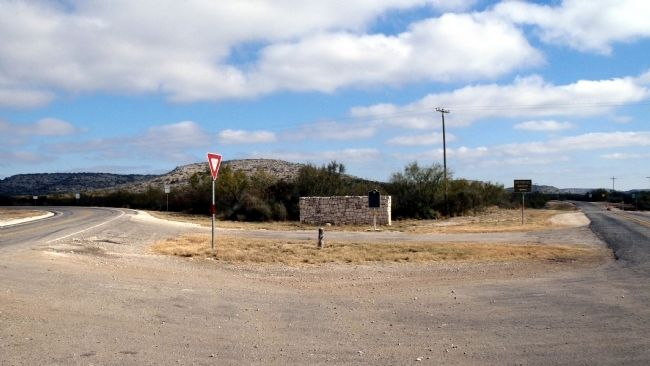 Hood's Devils River Fight Marker site image. Click for full size.